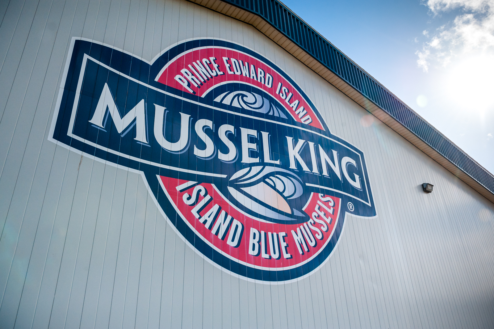 Mussel King sign