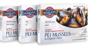 PEI Mussel King Packaged Products