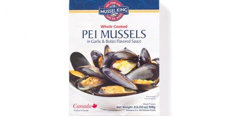 PEI Mussels in Garlic Butter Sauce