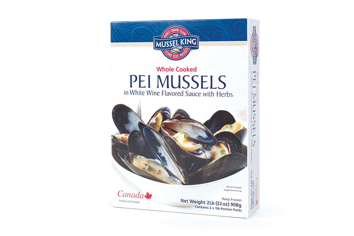 PEI Mussels in White Wine Sauce 2lb