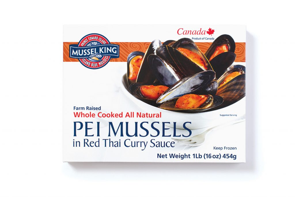PEI Mussels in Red Thai Curry Sauce