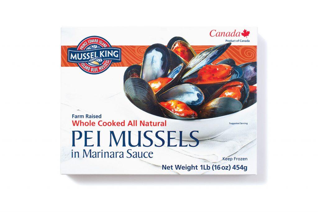 PEI Mussels in Marinara Sauce