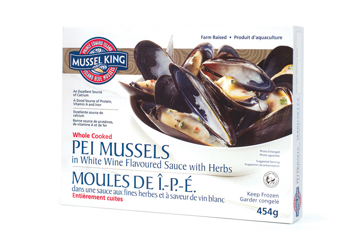 PEI Mussels in White Wine Sauce